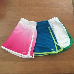 Nike Tennis Skirts/Skorts - Set of 3